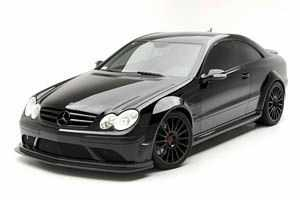 «Темная вдова» Мерседес CLK 63 Black Series