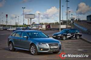 Ауди A4 Allroad VS Субару Outback: Сталкеры